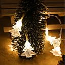 billige Bensinsystemer-10m100led juletre lykta streng juledekorasjon lys juledag atmosfære liten lykt