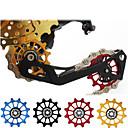Χαμηλού Κόστους Tire Repair Kits-Τροχός οδηγού ποδηλάτου Για Ποδήλατο Δρόμου / Ποδήλατο Βουνού Κράμα αλουμινίου Αντιολισθητικό / Υψηλής Δύναμης / Ανθεκτικό Ποδηλασία Μαύρο Χρυσό Κόκκινο