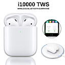 cheap Wireless Chargers-Original i10000 TWS Wireless Earbuds Bluetooth 5.0 Earphone Touch Control Portable Sport Headset Wireless QI Charge Inear Check Automatic Ear Detection Play and Pause Pop-up Window with IOS
