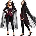 Χαμηλού Κόστους Κοστούμια για Ενήλικες-Vampires Στολές Ηρώων Μανδύας Χορός μεταμφιεσμένων Ενηλίκων Γυναικεία Στολές Ηρώων Halloween Halloween Γιορτές / Διακοπές Τούλι Βαμβάκι Μαύρο Γυναικεία Αποκριάτικα Κοστούμια / Κορυφή / Παντελόνια