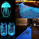 Χαμηλού Κόστους Γυναικεία παπούτσια γάμου-diy φωτεινό λάμψη χαλίκι noctilucent άμμο ψάρια δεξαμενή ενυδρείο φθορισμού σωματίδια party διακοσμήσεις