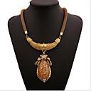 billige Statement Ringe-Dame Halskjede geometriske Blomst Mote Zirkonium Chrome Gull 45+5 cm Halskjeder Smykker 1pc Til Daglig