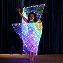 povoljno Egzotična plesna odjeća-Oprema za ples Izidina krila Djevojčice Seksi blagdanski kostimi Terilen LED