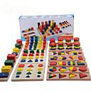 billiga Jobb- och rollspelsleksaker-Montessori – pedagogiska leksaker Pinnpussel Matteleksaker Utbilding Häftig Flickor Pojkar Present
