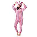 ราคาถูก ชุดนอน Kigurumi-วัยรุ่น ผู้ใหญ่ Kigurumi Pajama Unicorn Flying Horse Onesie Pajama ผ้าสำลี สีม่วง / แดง / สีชมพู คอสเพลย์ สำหรับ ผู้ชายและผู้หญิง สัตว์ชุดนอน การ์ตูน Festival / Holiday เครื่องแต่งกาย