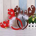 olcso Karácsonyi dekoráció-2 db karácsonyi fejpánt gyermekeknek felnőtteknek szarvas fülének karácsonyi party