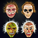 billige Halloweenutstyr-Maske Halloween Utstyr Halloweenmaske Inspirert av Spøkelse Skummel film Rød og Hvit Hvit Masker Halloween Halloween Herre Dame