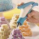 billiga Bakformar-1st Plast Tårta Fondant Tools Bakeware verktyg