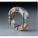 Χαμηλού Κόστους Αντρικά Δαχτυλίδια-Ανδρικά Δαχτυλίδι Cubic Zirconia 1pc Χρυσό Χαλκός Geometric Shape Μοντέρνα Αρραβώνας Καθημερινά Κοσμήματα Γεωμετρική Ευλογημένος Απίθανο