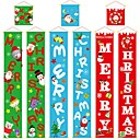 olcso Karácsonyi dekoráció-150 * 25 cm-es otthoni karácsonyi banner dekorációk karácsonyi 2019 kupé lógó ruhák karácsonyi hangulatú faldekorációval
