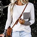 povoljno Tote torbe-Majica s rukavima Žene Dnevno Jednobojni Obala