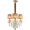 ราคาถูก โคมไฟระย้า-QINGMING® 3-Light มินิ โคมไฟระย้า Uplight ชุบโลหะด้วยไฟฟ้า โลหะ Mini Style 110-120โวลล์ / 220-240โวลต์
