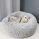 Χαμηλού Κόστους Κρεβάτια & Κουβέρτες σκυλιών-Σκυλιά Γάτες Στρώμα Επιφάνειας Κρεβάτια Κουβέρτες κρεβατιών Χαλάκια & Μαξιλαράκια Ύφασμα Χνουδωτό Moale Ανθεκτικό Μονόχρωμο Κάμελ Κρασί Λευκό