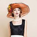 povoljno Party pokrivala za glavu-100% posteljine Fascinators / kape s Cvjetni print 1pc Special Occasion / Zabava / večer Glava