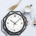 ราคาถูก นาฬิกาติดผนัง-m.sparkling ใหม่ยอดนิยมตกแต่งบ้านนาฬิกาแขวนอะคริลิสร้างสรรค์สีดำและสีขาวโปร่งใสนาฬิกาห้องนั่งเล่นศึกษานาฬิกา