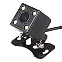 Χαμηλού Κόστους Κάμερα Οπισθοπορείας Αυτοκινήτου-ziqiao pla σύστημα 4 οδήγησε αυτοκίνητο νυχτερινή όραση αντίστροφη παρακολούθηση αυτόματη στάθμευσης αδιάβροχο 170-βαθμός hd βίντεο backup φωτογραφική μηχανή
