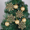 billige Julepynt-ferie dekorasjoner nyttårs julepynt dekorative gull / blå 10stk