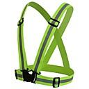 billiga Reflexkläder-utomhus säkerhetsväst band lätt cykelsele för natt ridning