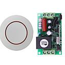 Χαμηλού Κόστους Smart Switch-ac220v 1 κουμπιά εκμάθησης κωδικού εκμάθησης / ενεργοποίησης / απενεργοποίησης ασύρματου διακόπτη τηλεχειρισμού rf με ρελέ 10a / 433mhz