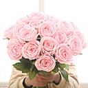 olcso Művirágok-művirág érzi hidratáló rózsa növény otthoni esküvői dekoráció hamis virág