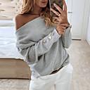 olcso Zsák táskák-Női Póló - Egyszínű Fehér