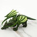 ราคาถูก ฟิกเกอร์ไดโนเสาร์-Model Building Kits DIY Dinosaur มังกร ยาง คลาสสิก Toy ของขวัญ