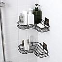 זול מדפי מקלחת-צדף לחדר האמבטיה עיצוב חדש / מגניב מודרני WroughtIron / פלדת אל חלד / ברזל 1pc מותקן על הקיר
