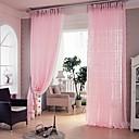 ราคาถูก ม่านปรับแสง-คลาสสิก Sheer หนึ่งช่อง ห้องนอน   Curtains