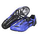 olcso Kerékpáros cipők-SIDEBIKE Felnőttek Biciklis cipők Légáteresztő Országúti biciklizés Kerékpározás / Kerékpár Szórakoztató biciklizés Kék Férfi Női Biciklis cipők