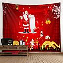 Χαμηλού Κόστους Christmas Stickers-Χριστούγεννα / Κλασσικό Θέμα Wall Διακόσμηση 100% Πολυέστερ Κλασσικό / Μοντέρνα Wall Art, Ταπετσαρίες τοίχου Διακόσμηση
