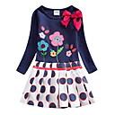 Χαμηλού Κόστους Φορέματα για κορίτσια-Παιδιά Κοριτσίστικα Φλοράλ Φόρεμα Βαθυγάλαζο