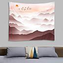 billige Wall Tapestries-Klassisk Tema Veggdekor 100% Polyester Klassisk / Vintage Veggkunst, Veggtepper Dekorasjon