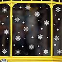 olcso Christmas Stickers-karácsonyi hópehely ablak film& ampampamp matricák dekorációs állati / mintás ünnepi / karakter / geometriai pvc (polivinil-klorid) ablak matrica