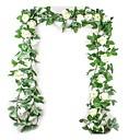 ราคาถูก ดอกไม้ประดิษฐ์-ดอกไม้ประดิษฐ์ 1 สาขา สไตล์สมัยใหม่ การแต่งงาน กุหลาบ Plants ดอกไม้วางบนโต๊ะ