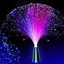 Χαμηλού Κόστους Φώτα διακόσμησης και γκάτζετ-ywxlight® 1pcs οδήγησε οπτικών ινών φως νυχτών φως χρώμα αλλάζει μικρά φως νυχτερινό γάμο χριστουγεννιάτικο πάρτι διακόσμηση σπίτι 2watts