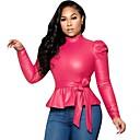 ราคาถูก ชุด-สำหรับผู้หญิง เสื้อสตรี สีพื้น สีบานเย็น