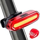 Χαμηλού Κόστους Φώτα Ποδηλάτου-LED Φώτα Ποδηλάτου Πίσω φως ποδηλάτου φώτα ασφαλείας LED Ποδήλατο Ποδηλασία LED Επαναφορτιζόμενη Μπαταρία * Επαναφορτιζόμενη Μπαταρία Άσπρο Κόκκινο Μπλε