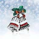 povoljno Religijski nakit-Žene Broševi 3D Zvono Moda Pozlaćeni Broš Jewelry Srebro Za Božić Party Festival