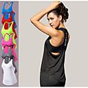 Χαμηλού Κόστους Ρούχα τρεξίματος-Γυναικεία Maieu de Alegat Με σπορ πλάτη Δένει στο Λαιμό Μονόχρωμο Μαύρο Πράσινο νέον Λευκό Ρουμπίνι Μπλε Τρέξιμο Φυσική Κάτάσταση Fitness Στρώμα βάσης Αμάνικη Μπλούζα Αμάνικο Αθλητισμός / Ελαστικό