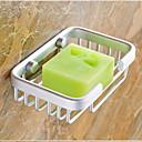 זול סבון כלים-סבון כלים & מחזיקים יצירתי / רב שימושי עכשווי אלומיניום 1pc מותקן על הקיר