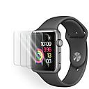 Χαμηλού Κόστους Βάσεις και κάτοχοι Smartwatch-3pack ρολόι μήλου προστατευτικό γυαλί οθόνη προστασίας για τη σειρά 5 43 2 1 προστατευτικό οθόνης
