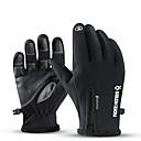 levne Motocyklové rukavice-venkovní nepromokavé rukavice zimní doteková obrazovka větruodolné teplé cyklistické semišové turistické lyžařské rukavice.