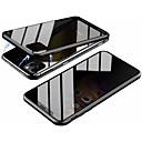 billige Trådløse ladere-Etui Til Apple iPhone 11 / iPhone 11 Pro / iPhone 11 Pro Max Magnetisk Heldekkende etui Ensfarget Herdet glass