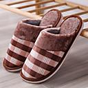Χαμηλού Κόστους Αντρικές Παντόφλες & Σαγιονάρες-Ανδρικά Παπούτσια άνεσης Φο Γούνα Χειμώνας Καθημερινό Παντόφλες & flip-flops Περπάτημα Διατηρείτε Ζεστό Καφέ / Μπλε