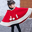 billige Jakker og frakker til jenter-Baby Jente Grunnleggende Fargeblokk Lapper Jakke og frakk Rød