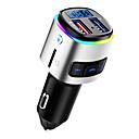 baratos Kits Bluetooth Automotivos/Mãos Livres-bc41 carga do carro mp3 player bluetooth mãos livres unidades de carregamento de bateria portas duplas carga rápida transmissor fm adaptador de rádio dsp
