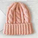 ราคาถูก หมวกสตรี-สำหรับผู้หญิง สีพื้น สังเคราะห์ ปาร์ตี้ พื้นฐาน สไตล์น่ารัก-หมวกสกี ฤดูหนาว ทุกฤดู สีดำ ไวน์ เทาอ่อน