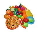 Χαμηλού Κόστους Παιχνίδια κουζίνα και τροφές-Σετ παιχνιδιών Κουζίνα Παιχνίδια ρόλων Κοπή Τροφίμων Play Φαγητό Φρούτο Εργαλεία Κοπής Φρούτων & Λαχανικών Ασφαλής για παιδιά Αλληλεπίδραση γονέα-παιδιού Πλαστικό Περίβλημα Παιδικά Προσχολικός