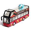 ราคาถูก รถของเล่น-01:32 รถของเล่น รถบัส รถขนส่ง รถเมล์สองชั้น Bus เปล่งประกาย ประณีต ปฏิสัมพันธ์ระหว่างพ่อแม่และลูก โลหะผสมสังกะสี ยาง ทั้งหมด เด็กชายและเด็กหญิง