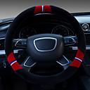 Χαμηλού Κόστους Καλύμματα για το τιμόνι αυτοκινήτου-χειροκίνητο τιμόνι αυτοκινήτου σετ μικρά βελούδινα που θέτουν άνδρες και γυναίκες γενική ζεστό αντιολισθητικό νέο απομιμήσεις μαλλί αυτοκίνητο που
